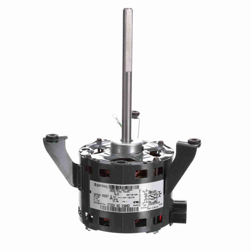 "2S002 | 1/20 hp 1750 RPM 3-Speed 5"" Diameter 115V Genteq Motor"