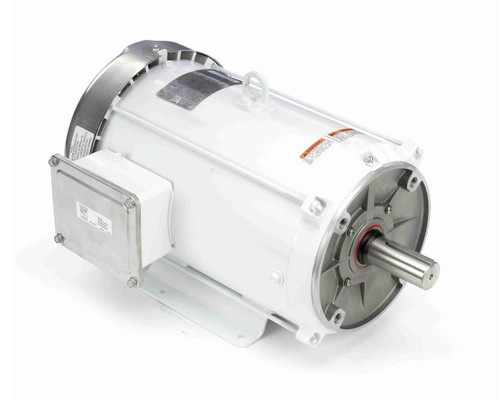 N617B Marathon 7 1/2 hp 3600 RPM 3-Phase 213TC Frame TEFC (with base) 208-230/460V Marathon Motor