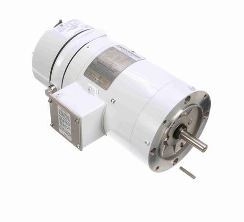 N375 Marathon 3/4 hp 1800 RPM 3-Phase  56C Frame TENV (no base) 208-230/460V Marathon Motor