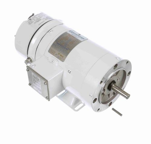 N355 Marathon 3/4 hp 1800 RPM 3-Phase  56C Frame TENV (rigid base) 208-230/460V Marathon Motor