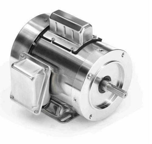N341 Marathon 1/2 hp 1800 RPM 1-Phase  56C Frame TEFC (rigid base) 115/230V Marathon Motor