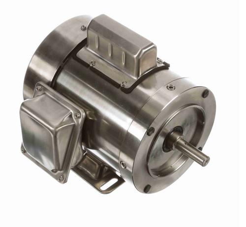 N342 Marathon 3/4 hp 3600 RPM 1-Phase  56C Frame TEFC (rigid base) 115/230V Marathon Motor