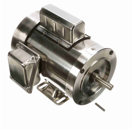 N346 Marathon 1 1/2 hp 3600 RPM 1-Phase  56C Frame TEFC (rigid base) 115/230V Marathon Motor