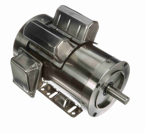 N349 Marathon 2 hp 1800 RPM 1-Phase  145TC Frame TEFC (rigid base) 115/230V Marathon Motor