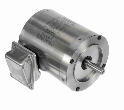 N431 Marathon 1/2 hp 1800 RPM 3-Phase  56C Frame TENV (no base) 208-230/460V Marathon Motor