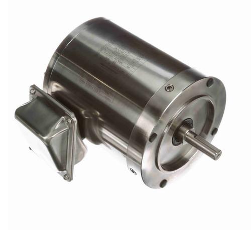 N426 Marathon 1/2 hp 1200 RPM 3-Phase  56C Frame TENV (no base) 208-230/460V Marathon Motor