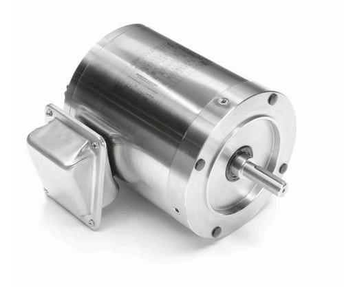 N432 Marathon 3/4 hp 1800 RPM 3-Phase  56C Frame TENV (no base) 208-230/460V Marathon Motor