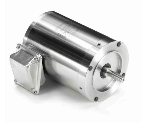 N428A Marathon 1 hp 1800 RPM 3-Phase 56C Frame TENV (no base) 208-230/460V Marathon Motor