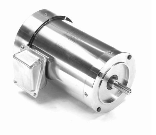 1 hp 1800 RPM 3-Phase 56C Frame TEFC (no base) 208-230/460V Marathon Motor # N433A
