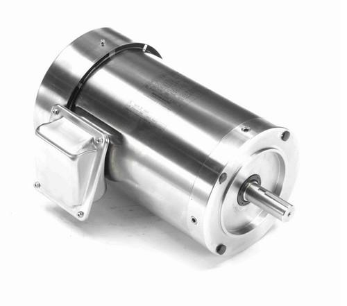 N434B Marathon 1 hp 1800 RPM 3-Phase 143TC Frame TEFC (no base) 208-230/460V Marathon Motor