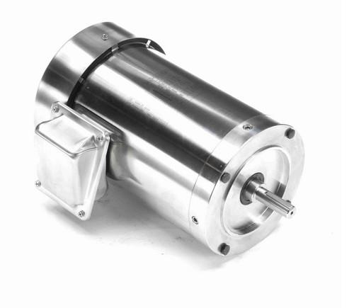 N435A Marathon 1 1/2 hp 1800 RPM 3-Phase 56C Frame TEFC (no base) 208-230/460V Marathon Motor