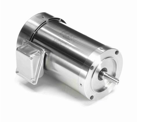 N437A Marathon 2 hp 1800 RPM 3-Phase 56C Frame TEFC (no base) 208-230/460V Marathon Motor