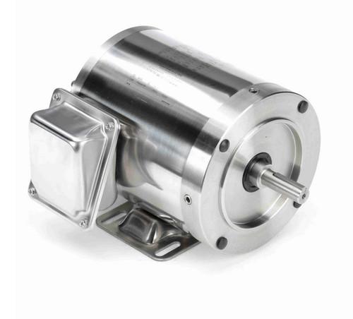 N410 Marathon 1/3 hp 1800 RPM 3-Phase  56C Frame TENV (rigid base) 208-230/460V Marathon Motor
