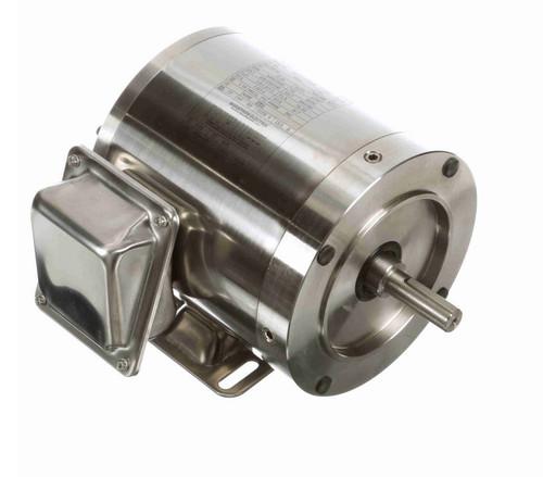 N451 Marathon 1/2 hp 3600 RPM 3-Phase  56C Frame TENV (rigid base) 208-230/460V Marathon Motor