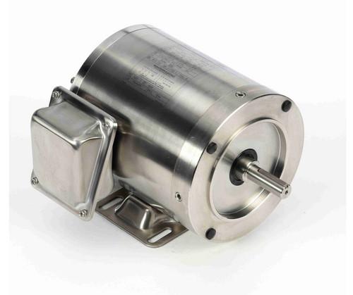 N411 Marathon 1/2 hp 1800 RPM 3-Phase  56C Frame TENV (rigid base) 208-230/460V Marathon Motor