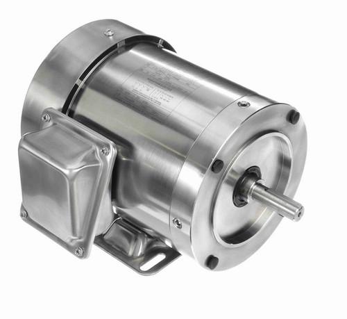 N494 Marathon 1/2 hp 1800 RPM 3-Phase  56C Frame TEFC (rigid base) 208-230/460V Marathon Motor