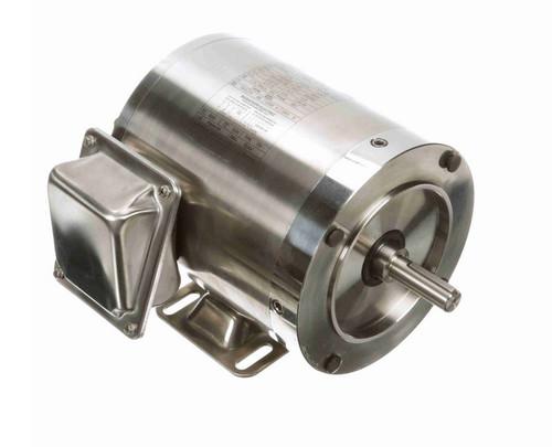 N495 Marathon 1/2 hp 1200 RPM 3-Phase 56C Frame TENV (rigid base) 208-230/460V Marathon Motor