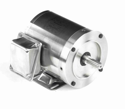 N452 Marathon 3/4 hp 3600 RPM 3-Phase  56C Frame TENV (rigid base) 208-230/460V Marathon Motor