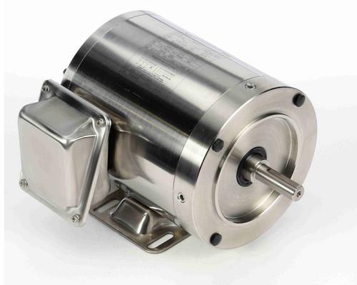 N412 Marathon 3/4 hp 1800 RPM 3-Phase 56C Frame TENV (rigid base) 208-230/460V Marathon Motor