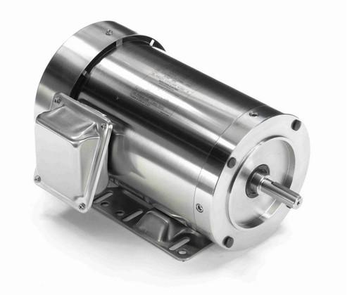 N415A Marathon 1 1/2 hp 1800 RPM 3-Phase  56C Frame TEFC (rigid base) 208-230/460V Marathon Motor
