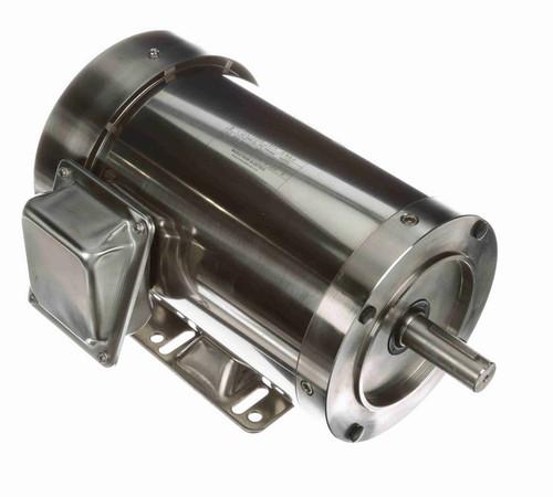 1 1/2 hp 1800 RPM 3-Phase 145TC Frame TEFC (rigid base) 230/460V Marathon Motor # N416A
