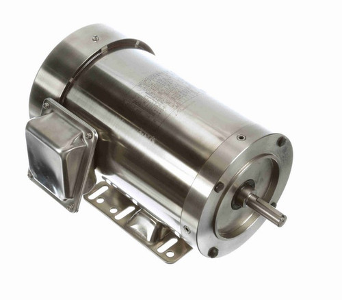 N417A Marathon 2 hp 1800 RPM 3-Phase  56C Frame TEFC (rigid base) 208-230/460V Marathon Motor