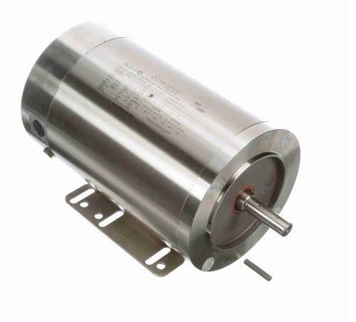 N283 Marathon 3/4 hp 1800 RPM 1-Phase  56C Frame TENV (rigid base) 115/208-230V Marathon Motor