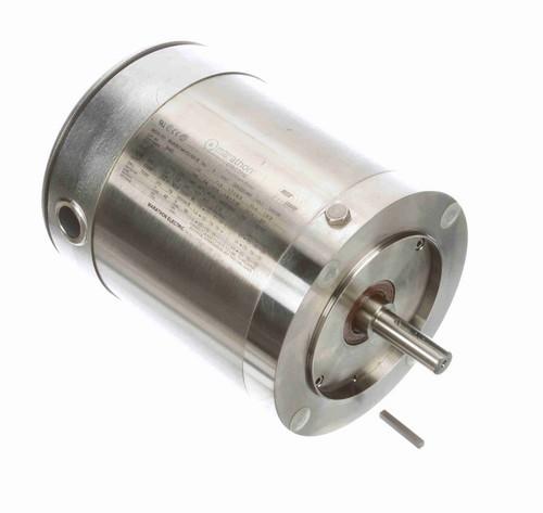 N480A Marathon 1/2 hp 3600 RPM 3-Phase  56C Frame TENV (no base) 208-230/460V Marathon Motor