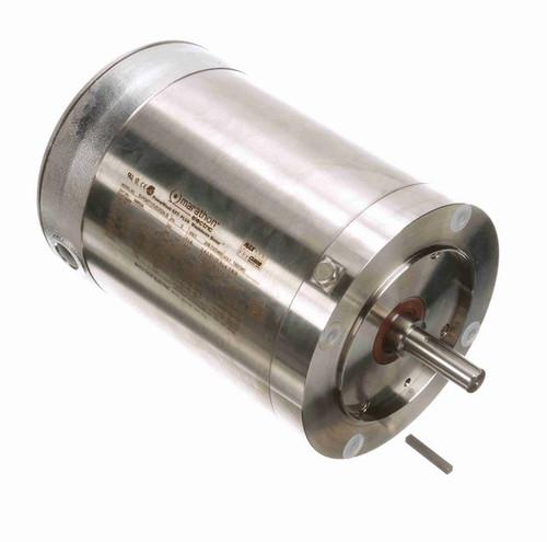 N463A Marathon 3/4 hp 1800 RPM 3-Phase  56C Frame TENV (no base) 208-230/460V Marathon Motor