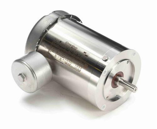 N464B Marathon 1 hp 1800 RPM 3-Phase  56C Frame TEFC (no base) 230/460V Marathon Motor