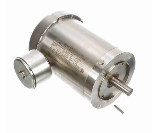 N483A Marathon 1 1/2 hp 3600 RPM 3-Phase  143TC Frame TEFC (no base) 230/460V Marathon Motor