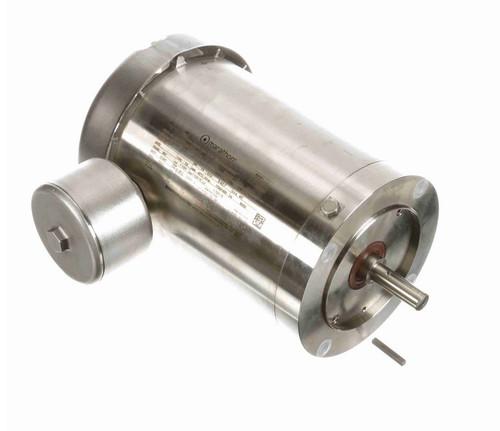 N468B Marathon 1 1/2 hp 1800 RPM 3-Phase 56C Frame TEFC (no base) 230/460V Marathon Motor