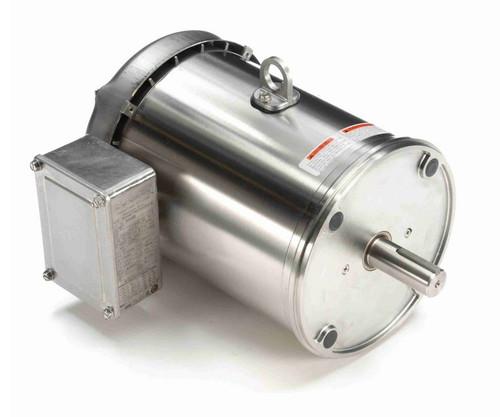 N448B Marathon 3 hp 1800 RPM 3-Phase 182TC Frame TEFC (no base) 230/460V Marathon Motor
