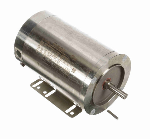 1/2 hp 1800 RPM 3-Phase 56C Frame TENV (rigid base) 208-230/460V Marathon Motor # N400