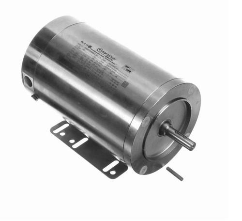 N401 Marathon 3/4 hp 1800 RPM 3-Phase 56C Frame TENV (rigid base) 208-230/460V Marathon Motor