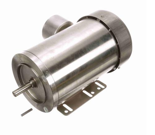 N402A Marathon 1 hp 1800 RPM 3-Phase 56C Frame TEFC (rigid base) 230/460V Marathon Motor