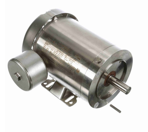 N442A Marathon 1 1/2 hp 3600 RPM 3-Phase 143TC Frame TEFC (rigid base) 230/460V Marathon Motor