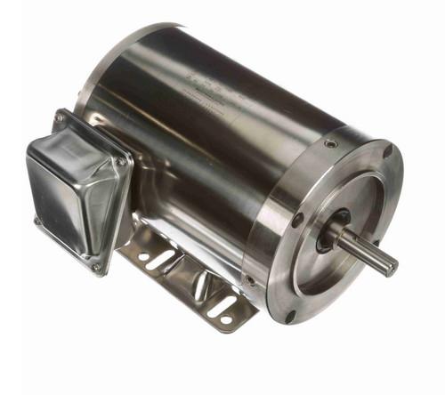 N497 Marathon 3/4 hp 1200 RPM 3-Phase 56C Frame TENV (rigid base) 208-230/460V Marathon Motor