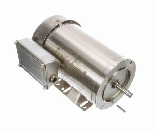 N286 Marathon 1 1/2 hp 3600 RPM 1-Phase 56C Frame TEFC (rigid base) 115/208-230V Marathon Motor