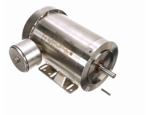 N293A Marathon 1 1/2 hp 1800 RPM 3-Phase 56C Frame TEFC (rigid base) 230/460V Marathon Motor
