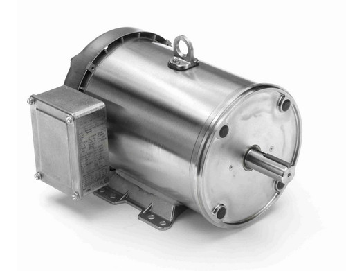 N445A Marathon 5 hp 3600 RPM 3-Phase 184TC Frame TEFC (rigid base) 230/460V Marathon Motor
