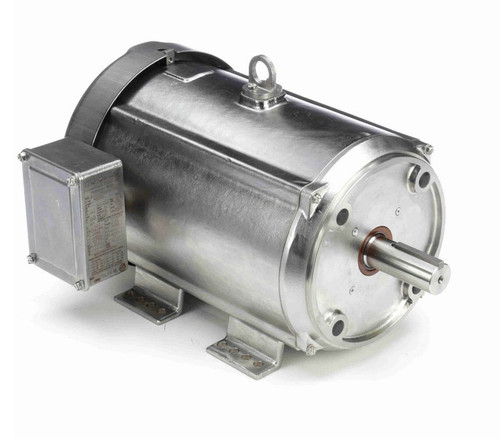 N446A Marathon 7 1/2 hp 3600 RPM 3-Phase 213TC Frame TEFC (rigid base) 230/460V Marathon Motor