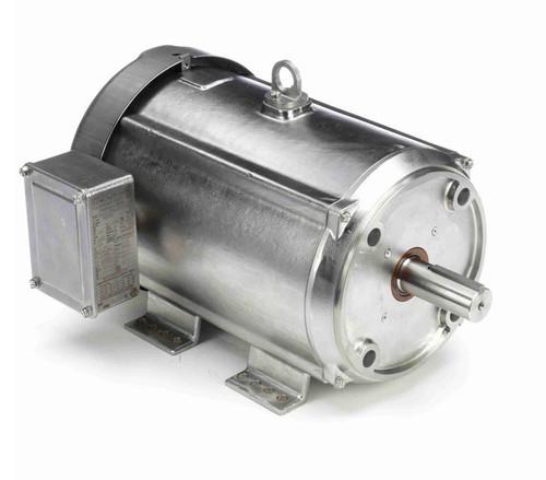 N447A Marathon 10 hp 3600 RPM, 23.6/11.8 amps 230/460 Volts 60hz. Three Phase