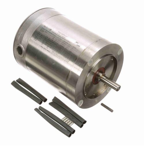 N707 Marathon 3/4 hp 3600 RPM 3-Phase  56C Frame TENV (no base) 208-230/460V Marathon Motor