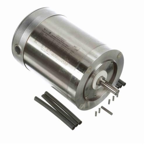 N708 Marathon 3/4 hp 1800 RPM 3-Phase  56C Frame TENV (no base) 208-230/460V Marathon Motor