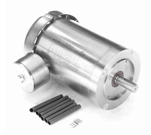 N718 Marathon 2 hp 3600 RPM 3-Phase 145TC Frame TEFC (no base) 230/460V Marathon Motor