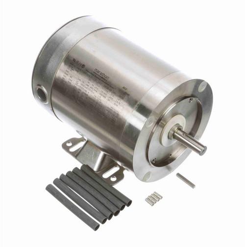 N755 Marathon 1/2 hp 1800 RPM 3-Phase 56C Frame TENV (rigid base) 208-230/460V Marathon Motor
