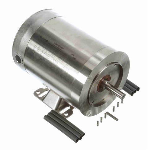 N758 Marathon 3/4 hp 1800 RPM 3-Phase 56C Frame TENV (rigid base) 208-230/460V Marathon Motor