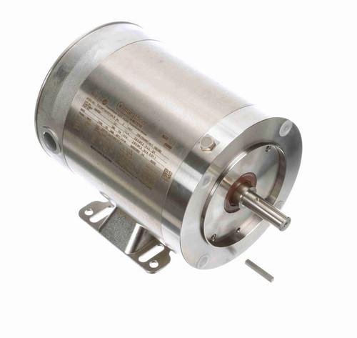 N440A Marathon 3/4 hp 3600 RPM 3-Phase 56C Frame TENV (rigid base) 208-230/460V Marathon Motor