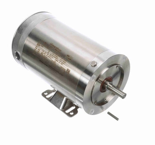 3/4 hp 1200 RPM 3-Phase 56C Frame TENV (rigid base) 208-230/460V Marathon Motor # N181A